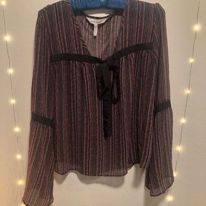 BCBGeneration stripped small blouse